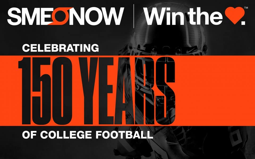 COLLEGE FOOTBALL 150TH ANNIVERSARY, SME PARTNER ON LOGO DESIGN